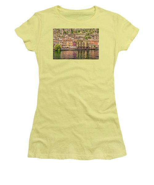 Women's T-Shirt (Junior Cut) featuring the photograph Beautiful Italy by Roy McPeak