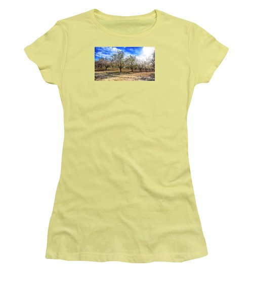 Beautiful Spring Garden  Women's T-Shirt (Athletic Fit)