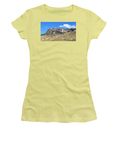 Beautiful Wyoming Women's T-Shirt (Athletic Fit)