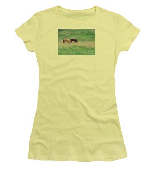 Beautiful Women's T-Shirt (Junior Cut) by Yumi Johnson