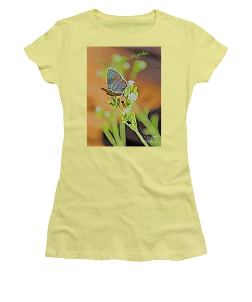 Beauty Flutters By Women's T-Shirt (Athletic Fit)