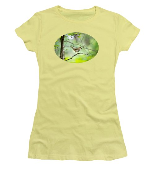 Beauty Of The Spring Forest Women's T-Shirt (Junior Cut) by Christina Rollo