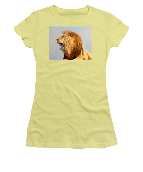 Bed Head - Lion Women's T-Shirt (Athletic Fit)