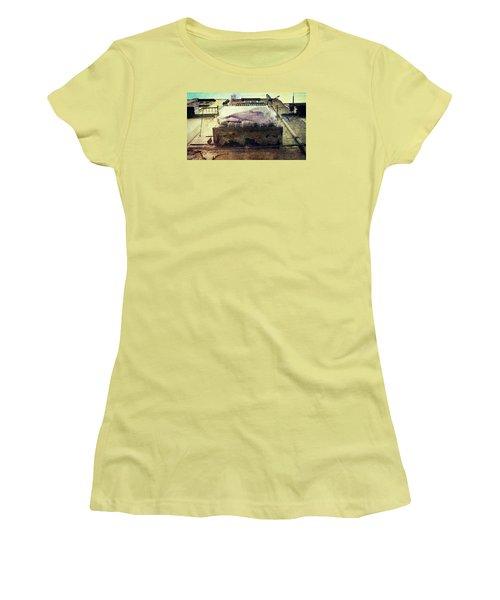 Bedclothes Women's T-Shirt (Junior Cut) by Vittorio Chiampan