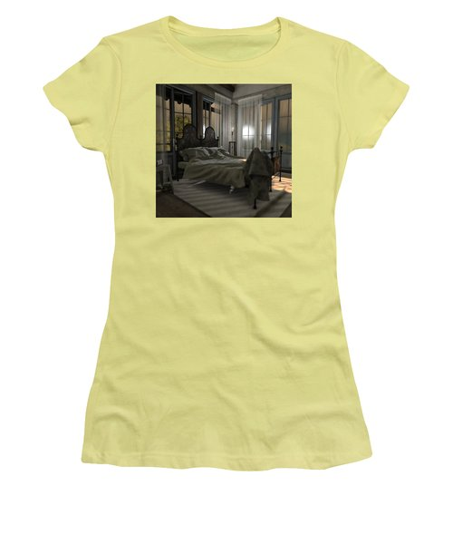Bedroom Women's T-Shirt (Athletic Fit)