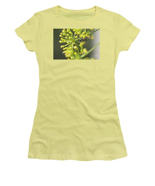 Bee Women's T-Shirt (Junior Cut) by Jivko Nakev