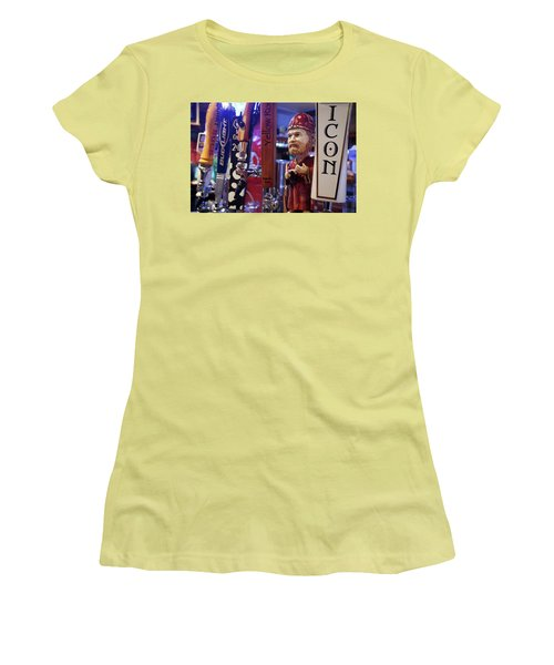 Beer Taps Women's T-Shirt (Athletic Fit)