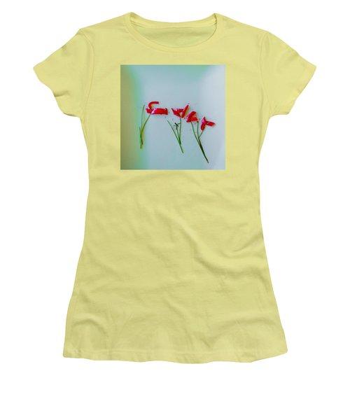 Beet The Blues Women's T-Shirt (Junior Cut) by Frank Bright