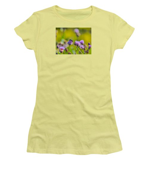 Women's T-Shirt (Junior Cut) featuring the photograph Beetle by Leif Sohlman