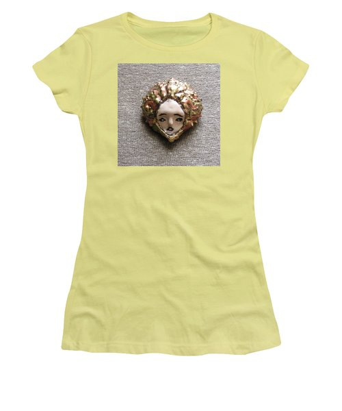 Women's T-Shirt (Junior Cut) featuring the photograph Before Pixel Pointillism by R  Allen Swezey