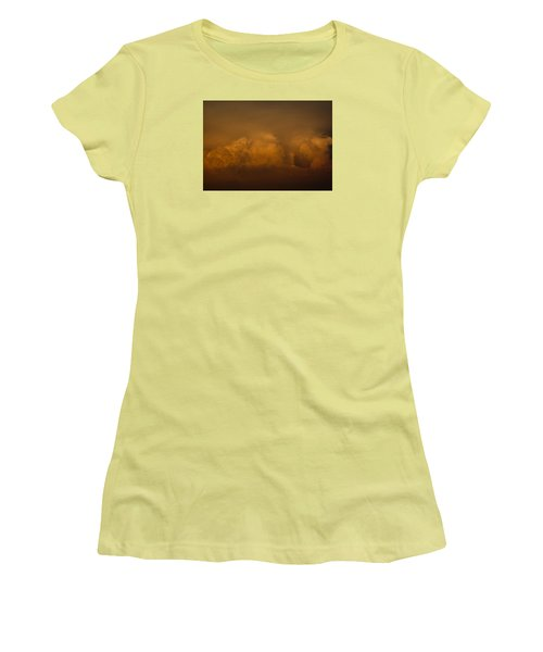 Behind The Sunset Women's T-Shirt (Athletic Fit)