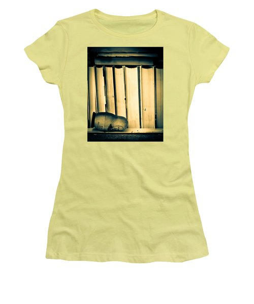 Being John Malkovich Women's T-Shirt (Junior Cut) by Bob Orsillo
