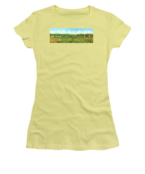 Belford's Nj Skyline Women's T-Shirt (Athletic Fit)