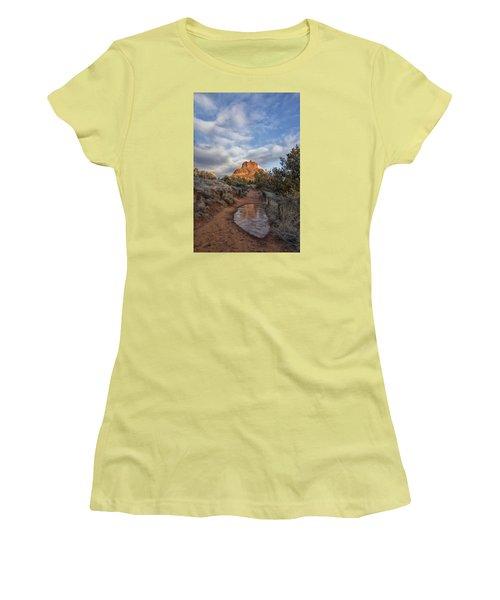 Bell Rock Beckons Women's T-Shirt (Junior Cut) by Tom Kelly