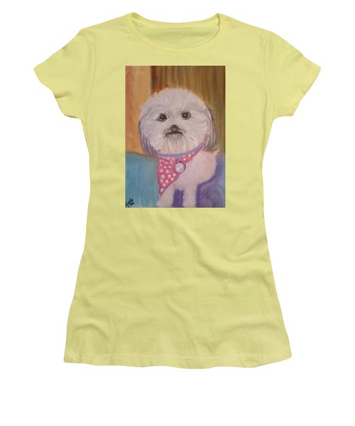 Bella Baby Women's T-Shirt (Junior Cut) by Carol Duarte