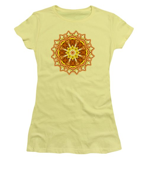Bells And Flowers Women's T-Shirt (Athletic Fit)