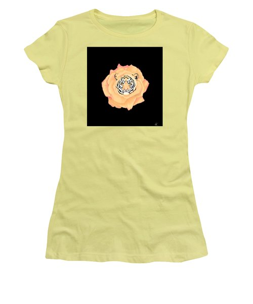 Bengal Blossom Women's T-Shirt (Athletic Fit)