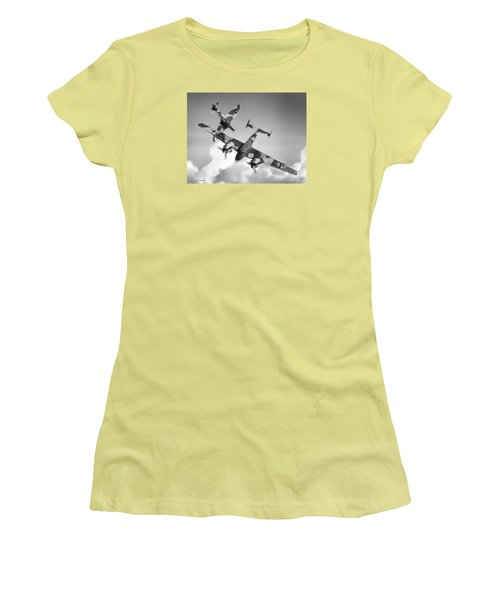 Bf-110c Zerstorer Women's T-Shirt (Athletic Fit)