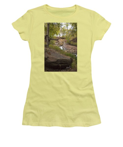 Big Stone Creek Women's T-Shirt (Athletic Fit)