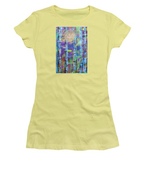 Birch 6 Women's T-Shirt (Junior Cut) by Jacqueline Athmann
