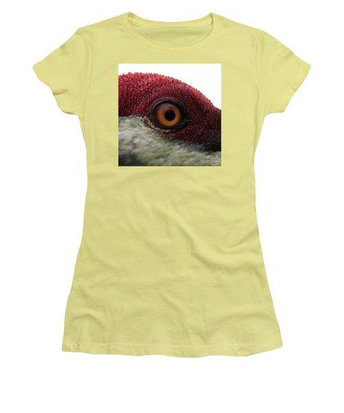 Women's T-Shirt (Junior Cut) featuring the photograph Birds Eye by Brian Jones