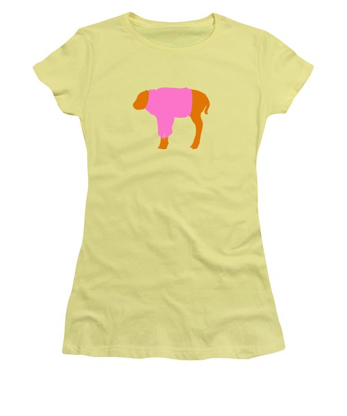 The Bison Calf Looked Cold Women's T-Shirt (Athletic Fit)