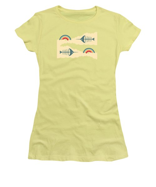 Bittersweet - Pattern Women's T-Shirt (Junior Cut) by Freshinkstain