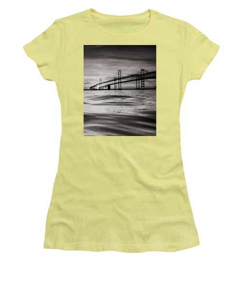 Black And White Reflections 2 Women's T-Shirt (Junior Cut) by Jennifer Casey