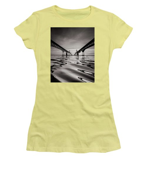 Black And White Reflections Women's T-Shirt (Junior Cut)