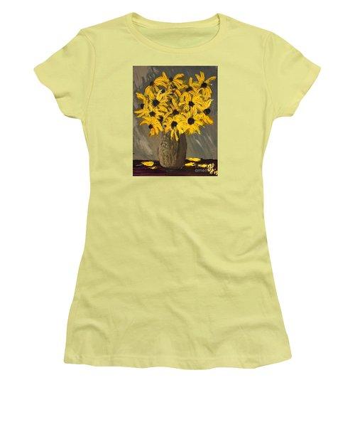 Black-eyed Susans Women's T-Shirt (Athletic Fit)
