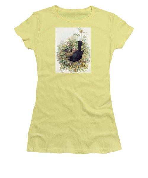 Blackbird,  Women's T-Shirt (Junior Cut) by John Gould