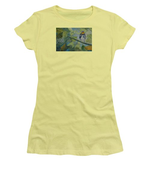 Blackburnian Warbler I Women's T-Shirt (Athletic Fit)