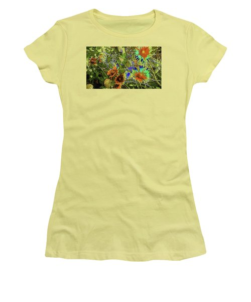 Blanket Flower II Women's T-Shirt (Junior Cut) by Donna G Smith