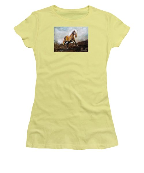 Blanket The War Pony Women's T-Shirt (Athletic Fit)
