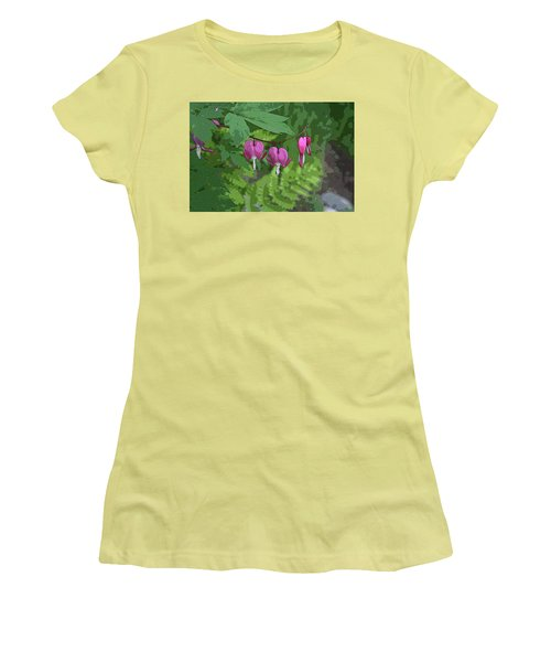 Bleeding Hearts 2 Women's T-Shirt (Athletic Fit)
