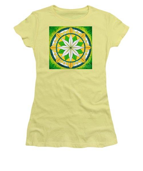 Blessings Of Kapayapaan/bendiciones De La Paz Women's T-Shirt (Athletic Fit)