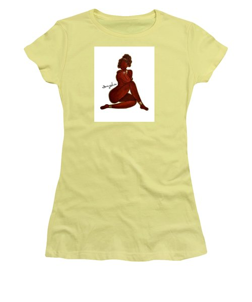 Bliss Women's T-Shirt (Junior Cut) by Diamin Nicole