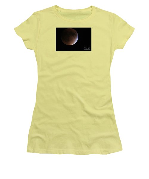 Blood Moon Women's T-Shirt (Athletic Fit)