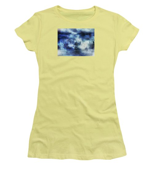 Blue Fog Women's T-Shirt (Athletic Fit)