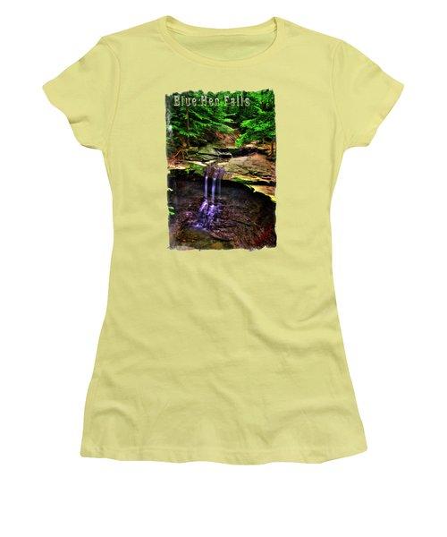 Blue Hen Falls Women's T-Shirt (Athletic Fit)