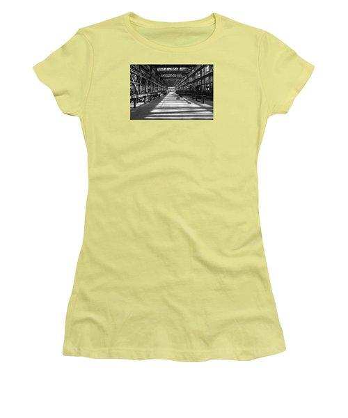 Blue Home Factory Women's T-Shirt (Junior Cut) by Catherine Lau