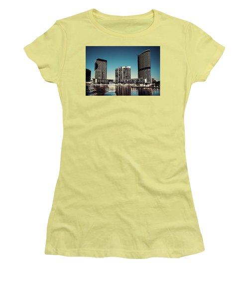 Blue Melbourne Women's T-Shirt (Athletic Fit)