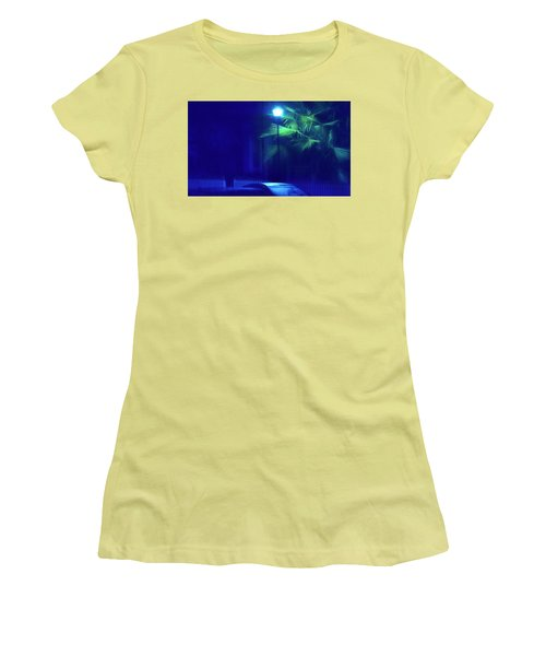 Blue Morning Women's T-Shirt (Athletic Fit)