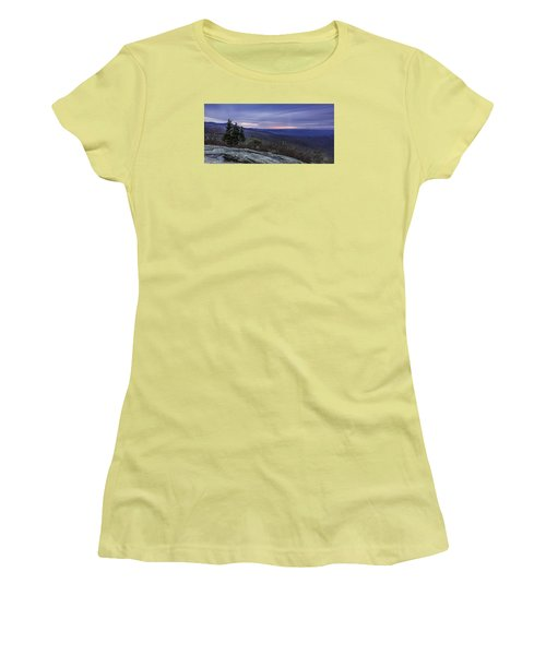 Blue Ridge Parkway Sunrise Women's T-Shirt (Athletic Fit)
