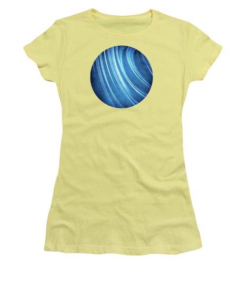 Blue Ridges Fractal Women's T-Shirt (Junior Cut) by Phil Perkins