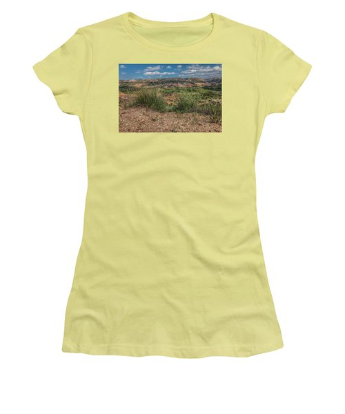 Blue Skies Over Palo Duro Canyon Women's T-Shirt (Athletic Fit)