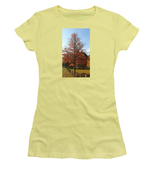 Blue Sky Women's T-Shirt (Junior Cut) by Jana E Provenzano