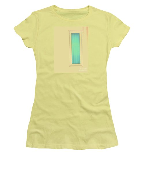 Women's T-Shirt (Junior Cut) featuring the photograph Blue  by Vanessa Palomino