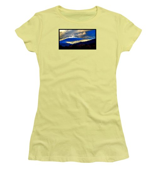 Blueray Winter New Mexico Women's T-Shirt (Junior Cut) by Susanne Still