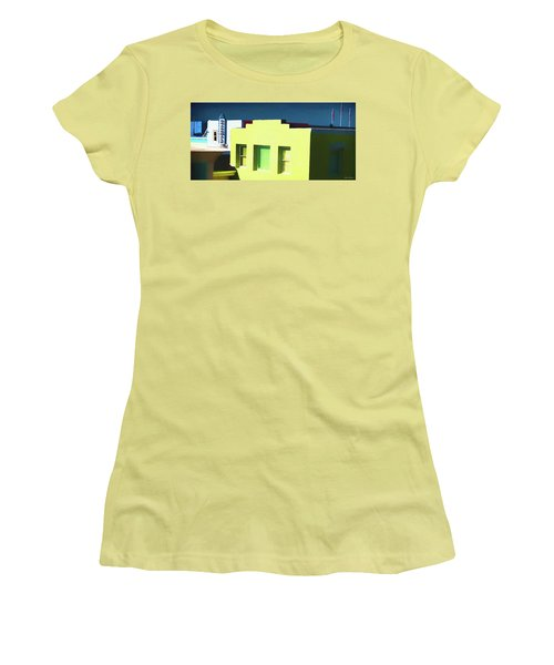 Boardwalk Carolina Beach Women's T-Shirt (Athletic Fit)